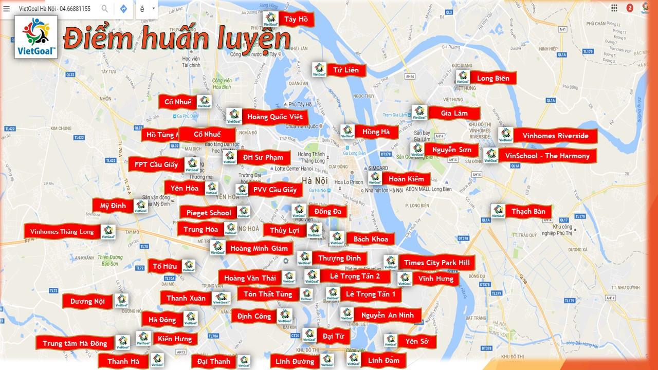 VietGoal ở khắp Hà Nội